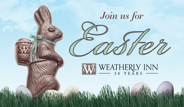 Weatherly Inn - Easter 2019 Email Graphic