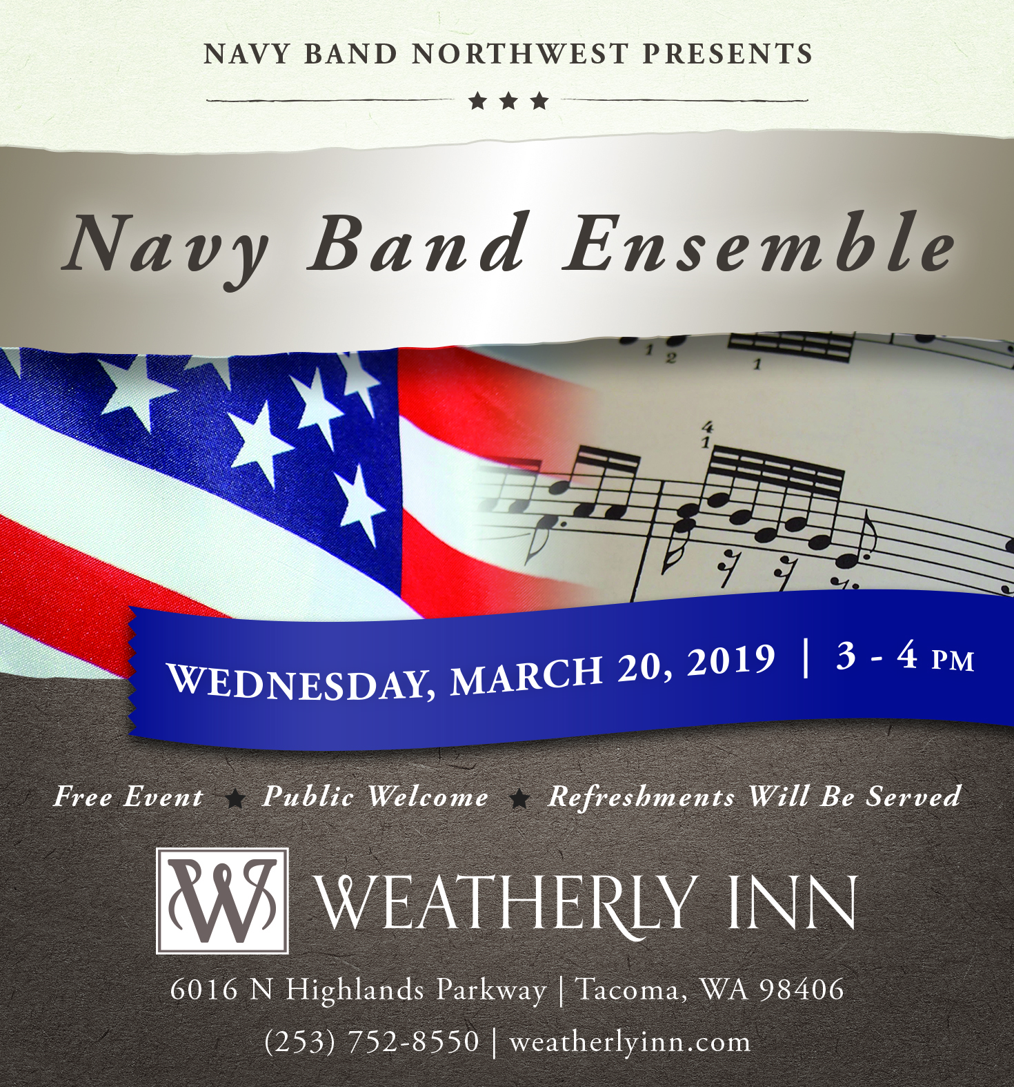 WeatherlyInn - Navy Band 2019 - TNT