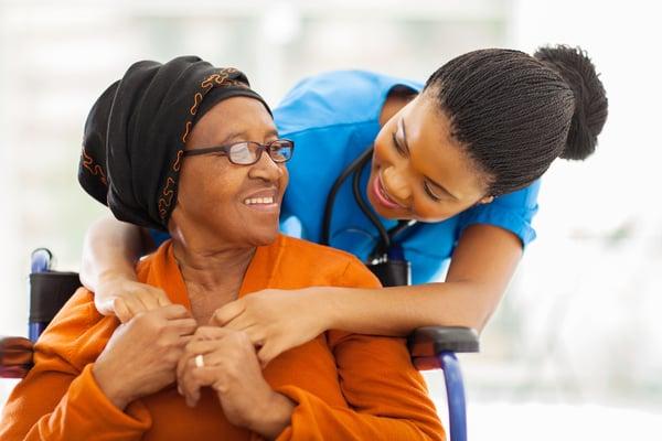 caregiver for elderly adult