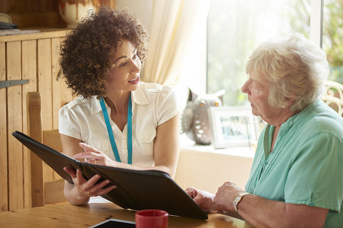 helping loved one plan for memory care