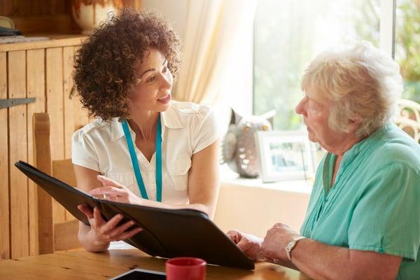 senior caregiver professional guidance