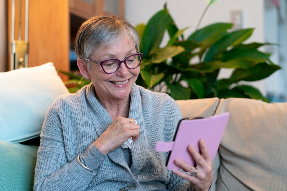Senior Citizens, Connecting, Assisted Living, Technology