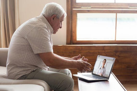 Senior Citizens, Connecting, Assisted Living