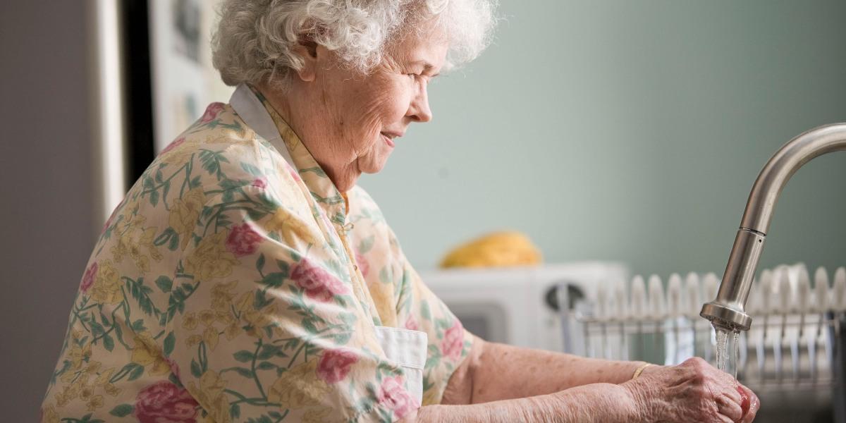 at-home dementia