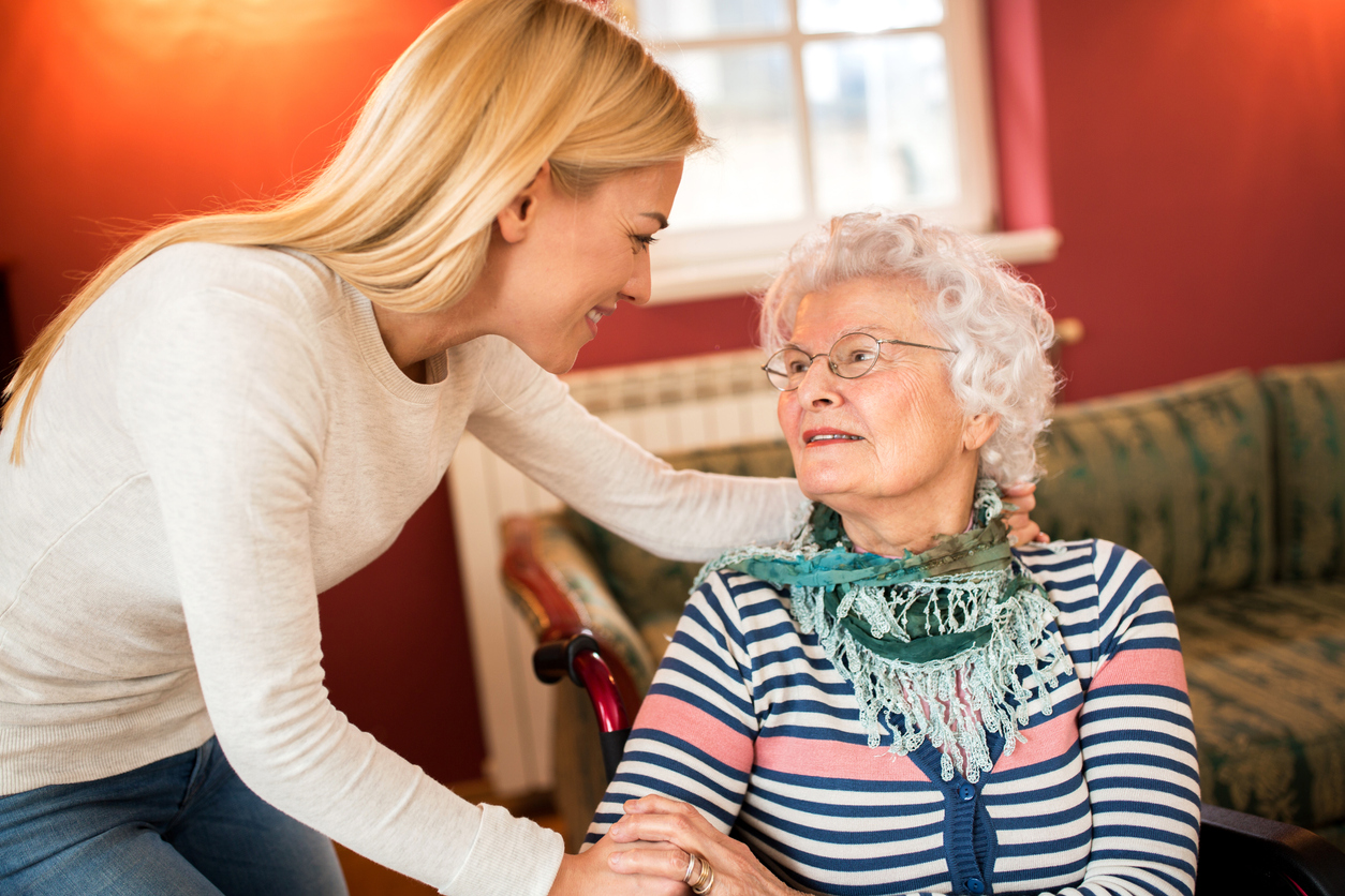 Helping easy into assisted living