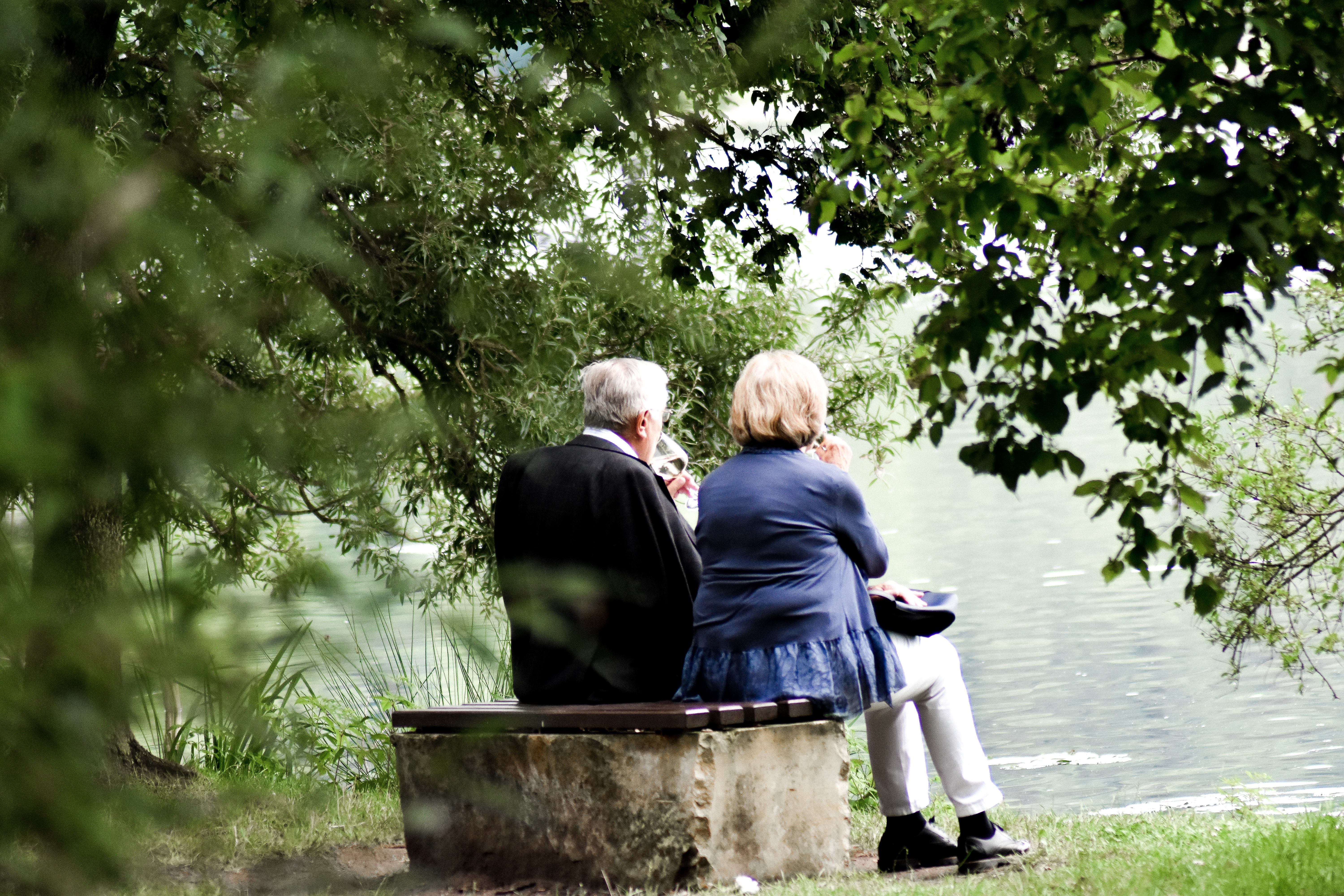Old couple retirement