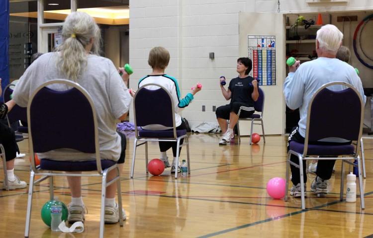 Chair fitness for seniors